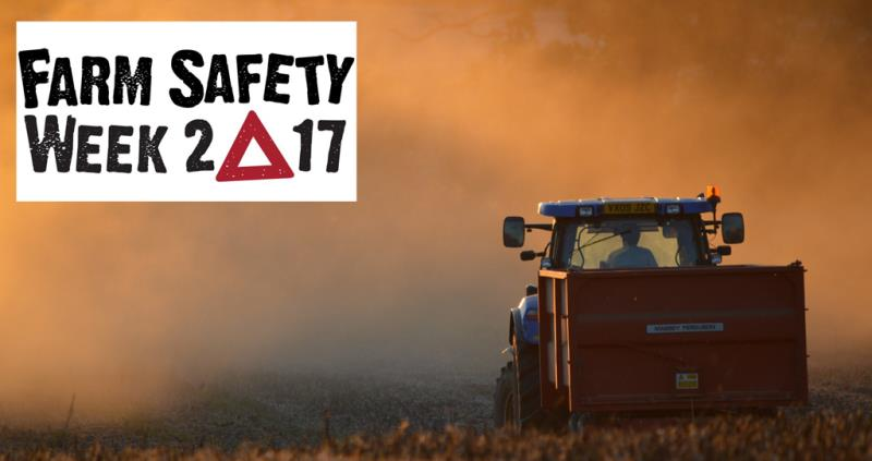 Farm Safety Week 2017: Danger in the driving seat