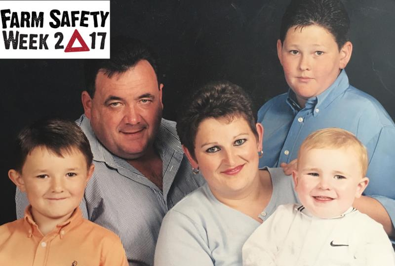 Farm Safety Week: Falls and falling objects - a farming family's story