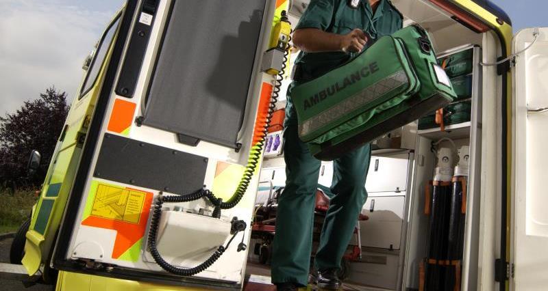 paramedic and ambulance, farm safety week, emergency, medic_29015