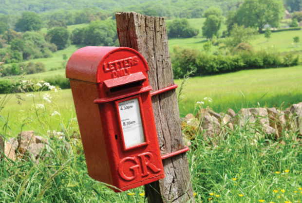 Rural postbox_7382