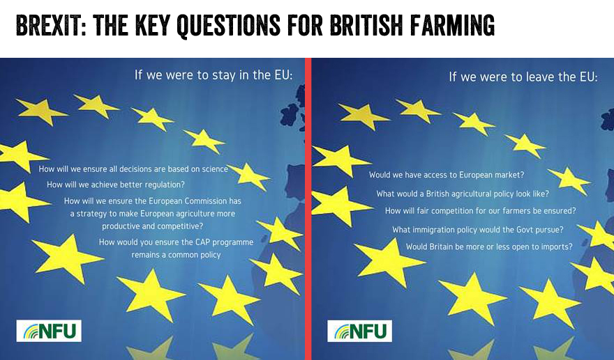 NFU16: Farmers to hear Brexit debate