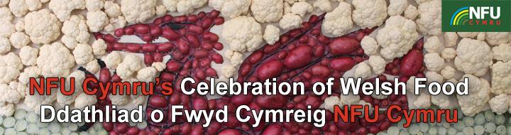nfu cymru banner, celebration of welsh food_35289