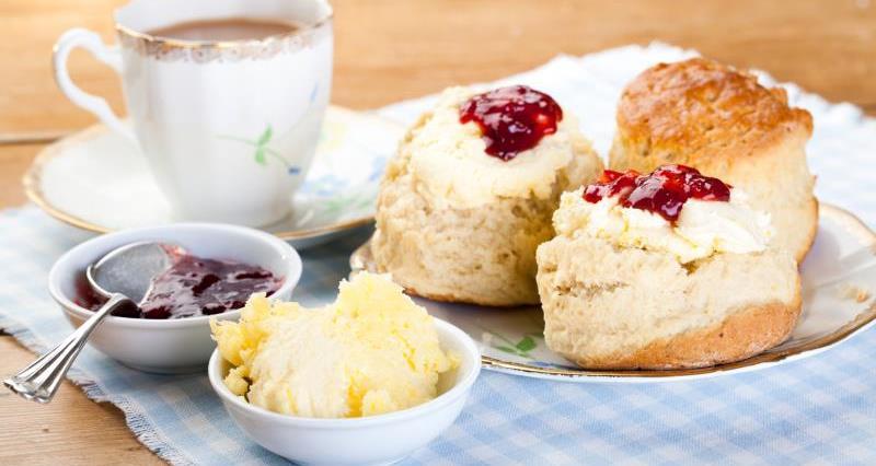 english cream tea, national cream tea day, back british farming, scone, jam_44823