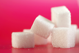 manifesto ask 34, sugar cubes on pink background_28023