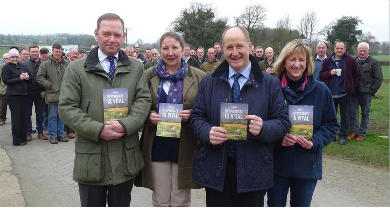 Yorkshire farmers get the message across on glyphosate