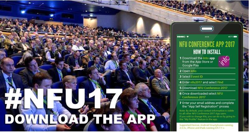 Download the NFU Conference App 2017