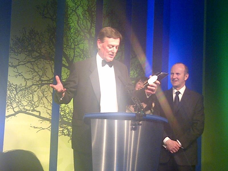 Martin Riggall received Lifetime Achievement award