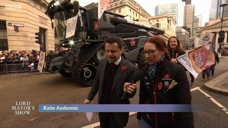 Lord Mayor's show 2018 Katie Anderson BBC interview_58546