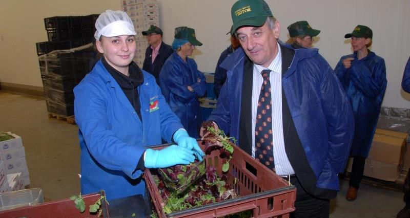 Meurig Raymond in south east with Environment Agency_35208