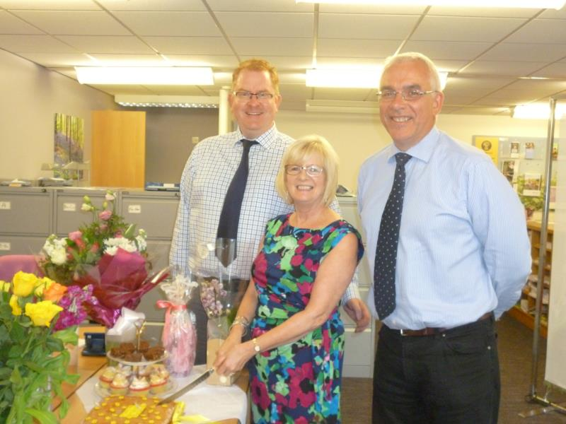 Mrs Sheila Skelton has decided retire from the NFU Cockermouth office_36047