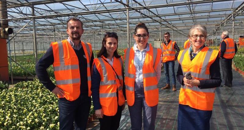 Seema Kennedy MP visit to Lovania Nurseries_34770
