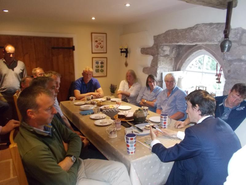 Rory Stewart MP meeting in Penrith_36727