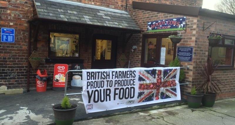 Surge in demand for Back British Farming banners