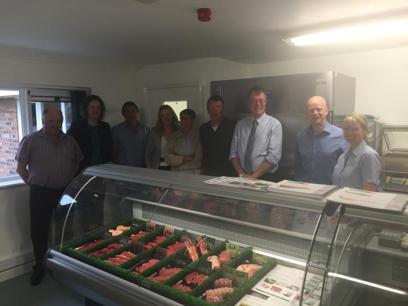 AHDB Beef & Lamb new product development visit_34750