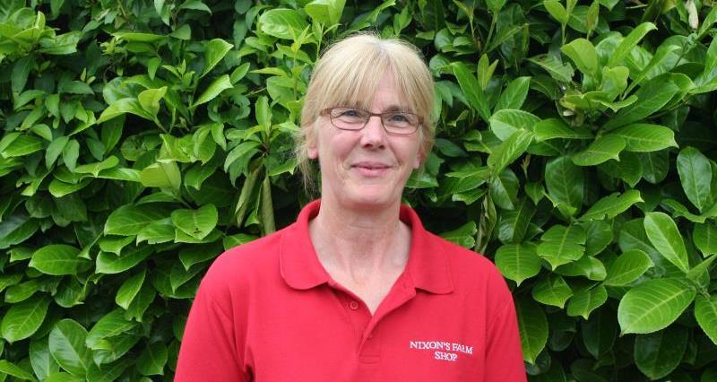 Beef farmer Julie Egglestone of Smithy Farm, Congleton_36045