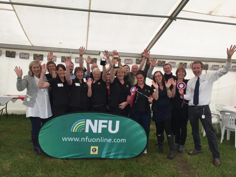 The NFU stand (courtesy of the team at Carlisle) won two trophies at Cumberland Show_36046