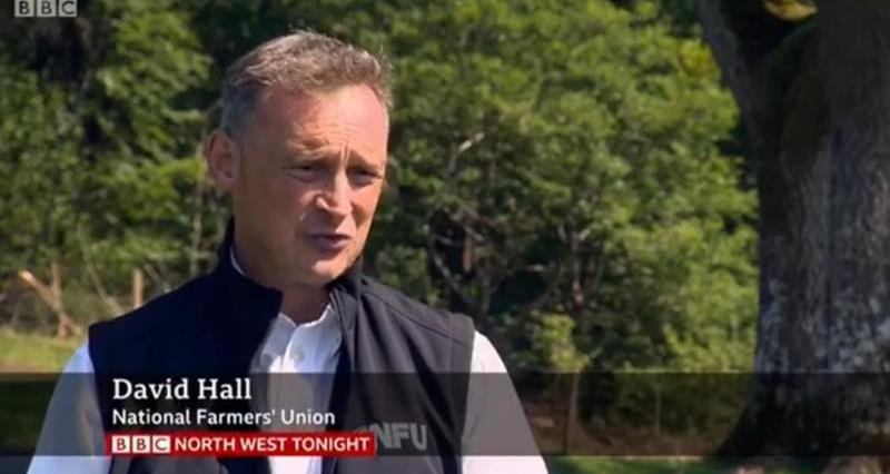 NFU BBC North West Tonight appearance goes viral