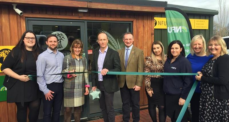 Minette Batters officially opens the new NFU Blackburn office_60978
