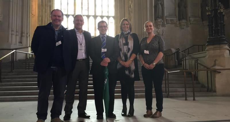 Members of the North West NFU team who had their Parliamentary induction_36069