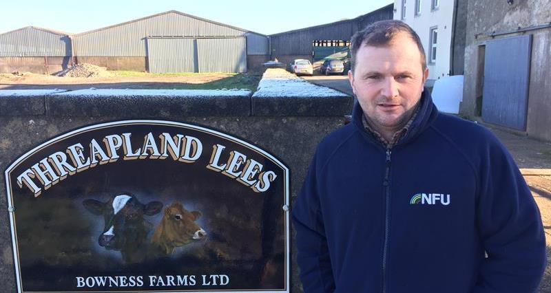 NFU Cumbria Deputy County Chairman Ian Bowness_60906