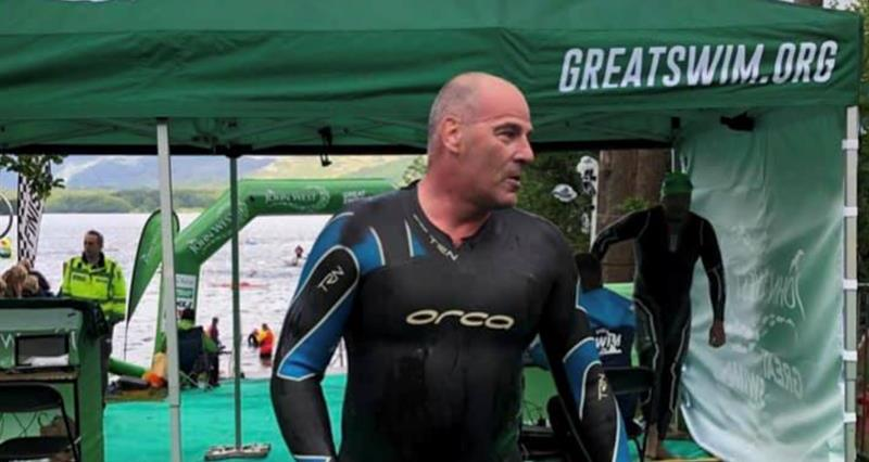 Penrith Group Secretary Martyn Jeal recently completed the Great North Swim _67047