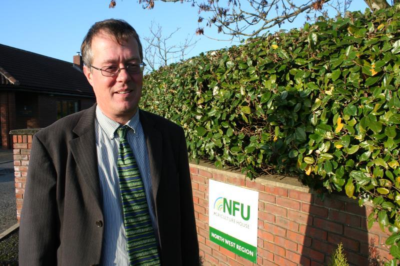 NFU North West livestock board chairman Bill Mellor_11412