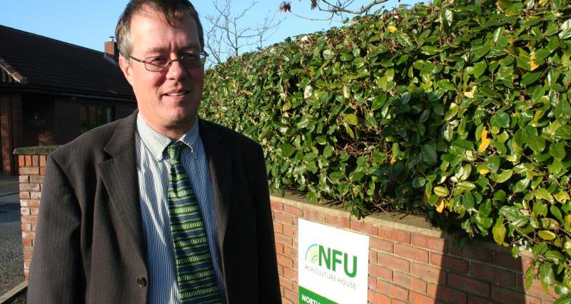 NFU North West livestock board chairman Bill Mellor_11412