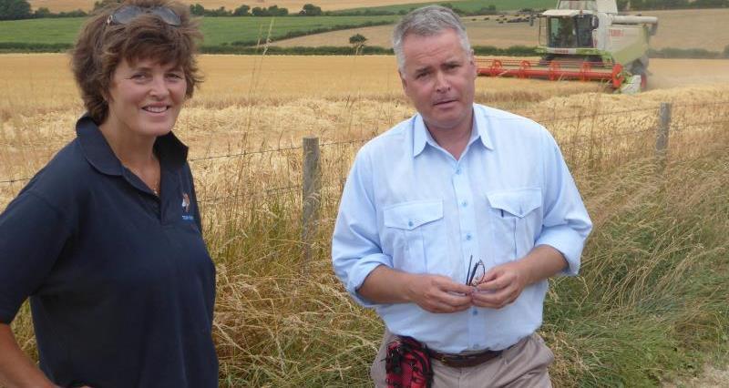 Caroline Harriott and Tim Loughton MP_56468
