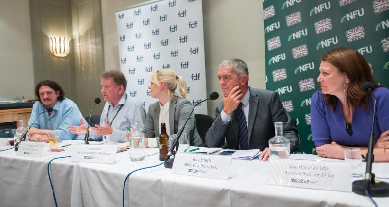 panel at FDF/NFU fringe event at Labour party conf Brighton_46730