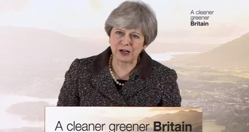 Prime Minister Theresa May delivers 25-year environment plan_50003