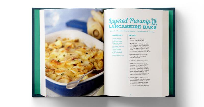 Layered Parsnip and lancashire bake_49847
