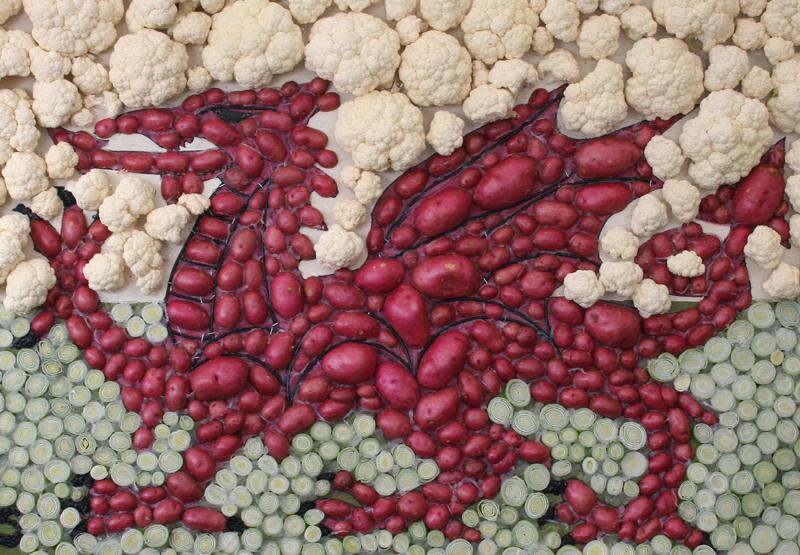 Welsh dragon - NFU Cymru food chain_50755