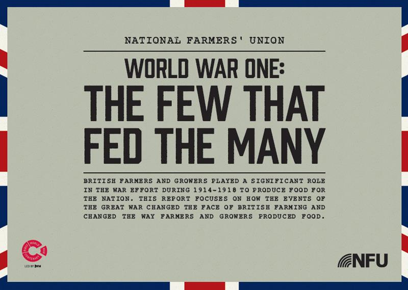 WW1 report - the few that fed the many_24169
