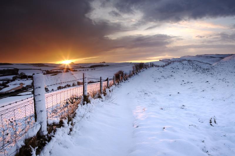 Sunset, Maiden Castle_7576