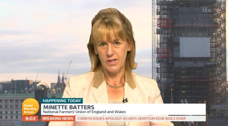 Minette Batters speak to GMB about the Agricultural Drought Summit_56483