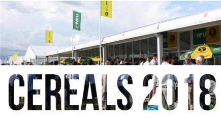 Come and join us for at Cereals 2018