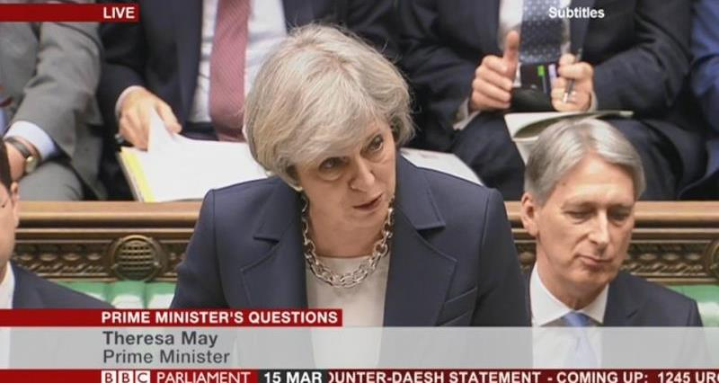 PMQs Prime Minister Theresa May _42629