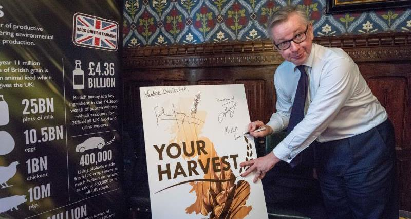 Michael Gove at Your Harvest MP Event July 2018_55724