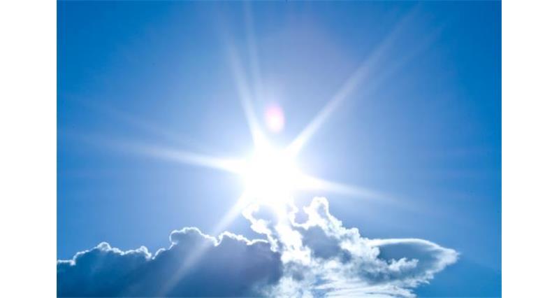 blue sky sunflare_26803