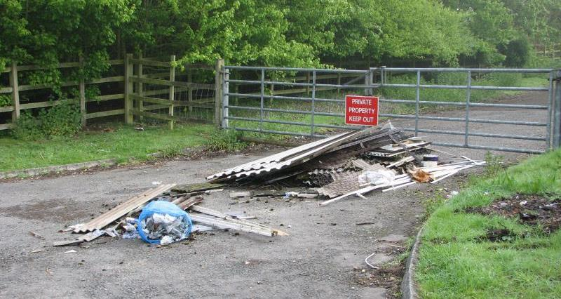 Advice: How to deal with fly-tipped waste
