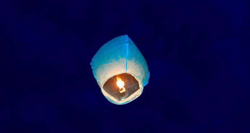 Sky lantern_47869