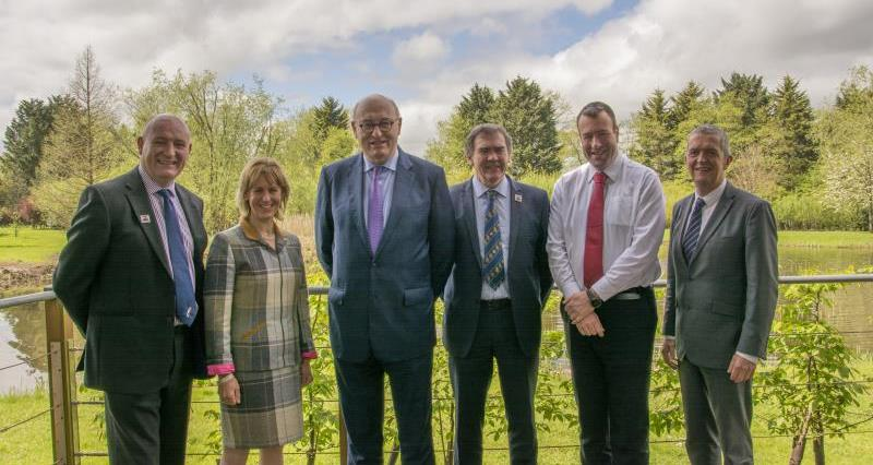 Phil Hogan with Welsh and English office holders HQ May 18_53825