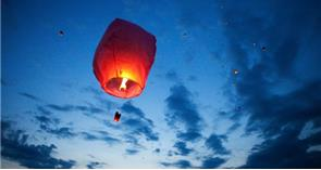 Total ban of sky lanterns in Wales