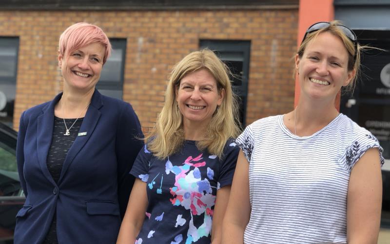 Alnwick team of Jane Potts Tania Conway and Miriam McGregor_56995