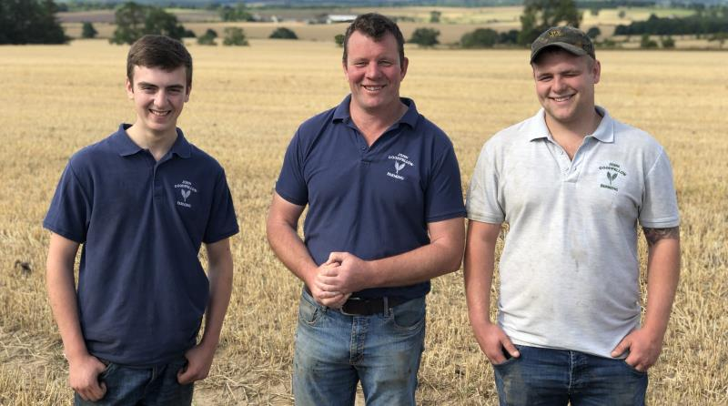 John Goodfellow with apprentices Rhys Loughhead and Harry Monks_56994