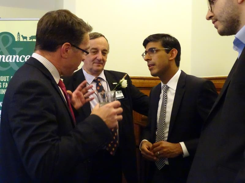 James Farrar with Meurig Raymond and Rishi Sunak MP_45005