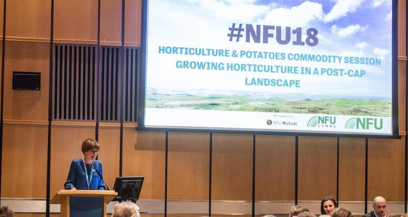 NFU18: Growing horticulture in a post-CAP landscape