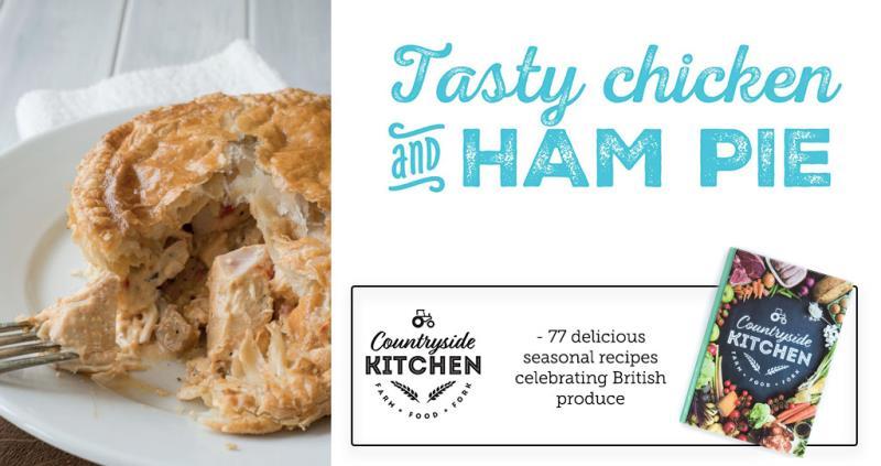 Chicken and ham pie - Countryside Kitchen_52250