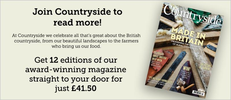 Countryside magazine advert for website - May 2018_53185