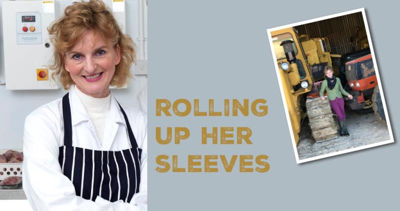 Gillian Kiddy -  rolling up her sleeves_52455